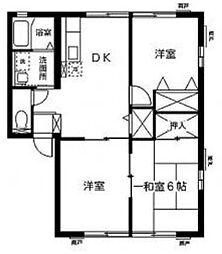 シティハイム サン湘南II[1階]の間取り