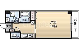 プレジール今福鶴見[2階]の間取り