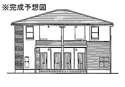 プロムナードメゾン弐番館 C[1階]の外観
