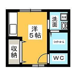 [一戸建] 愛知県一宮市高畑町3丁目 の賃貸【/】の間取り