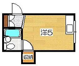 マンションASUKA[3階]の間取り