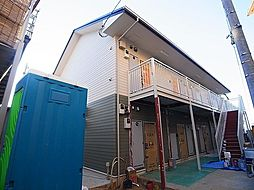 千葉県松戸市北松戸2の賃貸アパートの外観