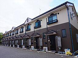 滋賀県近江八幡市北之庄町の賃貸アパートの外観