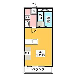 VISTA上水戸[2階]の間取り