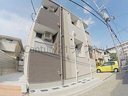 大阪府池田市石橋4丁目の賃貸アパートの外観