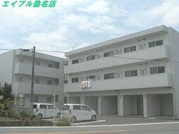 三重県いなべ市北勢町麻生田の賃貸マンションの外観