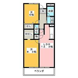 アークステージ[2階]の間取り