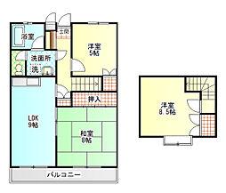 シンセア富士[4階]の間取り