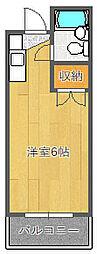 カルム千里山II[307号室]の間取り