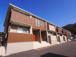 広島県広島市安芸区畑賀3の賃貸アパートの外観