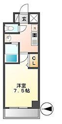 ニーズメゾン新栄[6階]の間取り