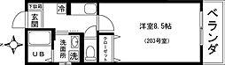 タクト鷺沼2番館[2階]の間取り