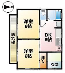 [一戸建] 千葉県茂原市東郷 の賃貸【/】の間取り