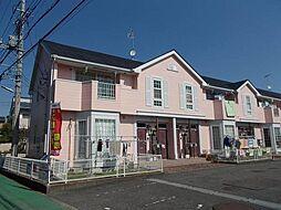 神奈川県伊勢原市沼目7丁目の賃貸アパートの外観