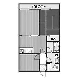 クラシオン[1階]の間取り