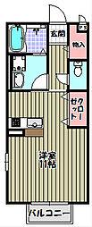 Comfort紘[2階]の間取り