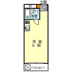 ハイムニシキ[3D号室]の間取り