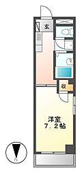 エスポワール神澤[4階]の間取り