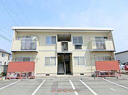 長野県長野市大字風間の賃貸アパートの外観
