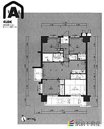 サンアイシティライフ箱崎16[2階]の間取り