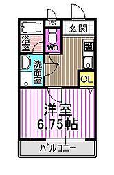 COZY HOUSE,GUMINOKI[1階]の間取り