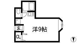 ルノン池田[2階]の間取り