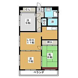Uステージ[7階]の間取り
