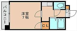 第5マルヤビル[4階]の間取り