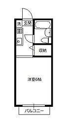 青木葉センタービル[210号室]の間取り
