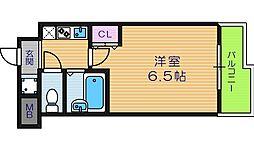 Signet阿倍野[6階]の間取り