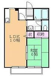 サンコーポ第3[1階]の間取り