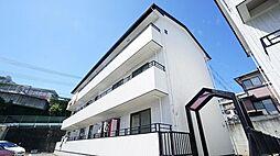 神奈川県川崎市宮前区潮見台の賃貸マンションの外観