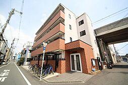大阪府東大阪市高井田中4丁目の賃貸マンションの外観