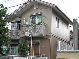 京都府京都市左京区一乗寺東水干町の賃貸アパートの外観