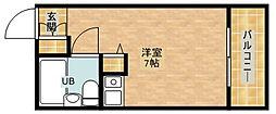 朝日プラザ天王寺西パサージュ[8階]の間取り