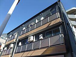 東京都足立区大谷田3の賃貸アパートの外観