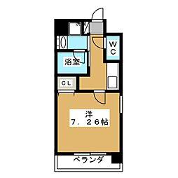 アスヴェル京都西陣[2階]の間取り