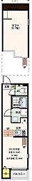 仮称)ハーモニーテラス遠里小野6丁目 B棟[2階]の間取り