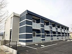 滋賀県高島市新旭町安井川1丁目の賃貸アパートの外観