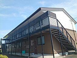 香川県丸亀市飯山町真時の賃貸アパートの外観