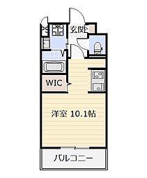 ニューサンリバー15番館[9階]の間取り