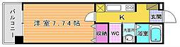 Live Flat藤松[4階]の間取り