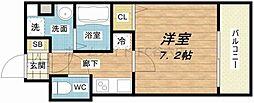 S-RESIDENCE新大阪Ridente[4階]の間取り