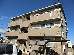 愛知県安城市安城町宮前の賃貸アパートの外観
