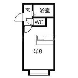グランステージ豊平公園II[1階]の間取り