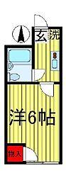 NYマンション[304号室]の間取り