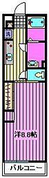 リブリ・MNメゾン[1階]の間取り
