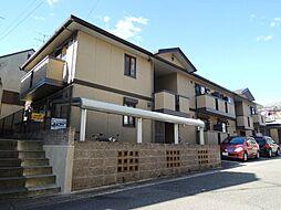 京都府京都市山科区音羽山等地の賃貸アパートの外観