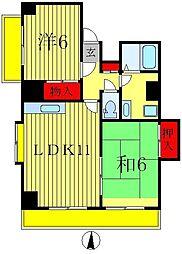 フォルピアビル[2階]の間取り