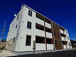 滋賀県東近江市ひばり丘町の賃貸アパートの外観